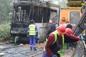 Wrocław: This is what a tram looks like after a fire in Biskupin [NEW PHOTOS]